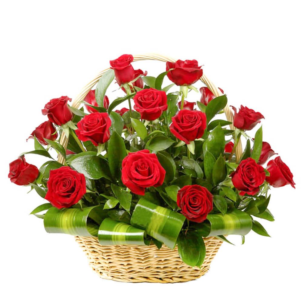 Мини, картинки цветов в корзине