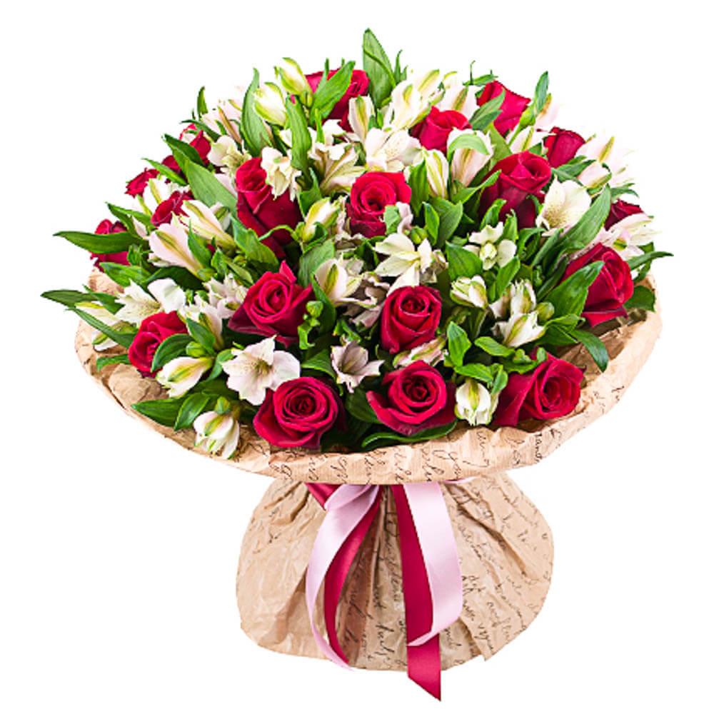 Свадебные букеты, цветы заказать с доставкой в новосибирске
