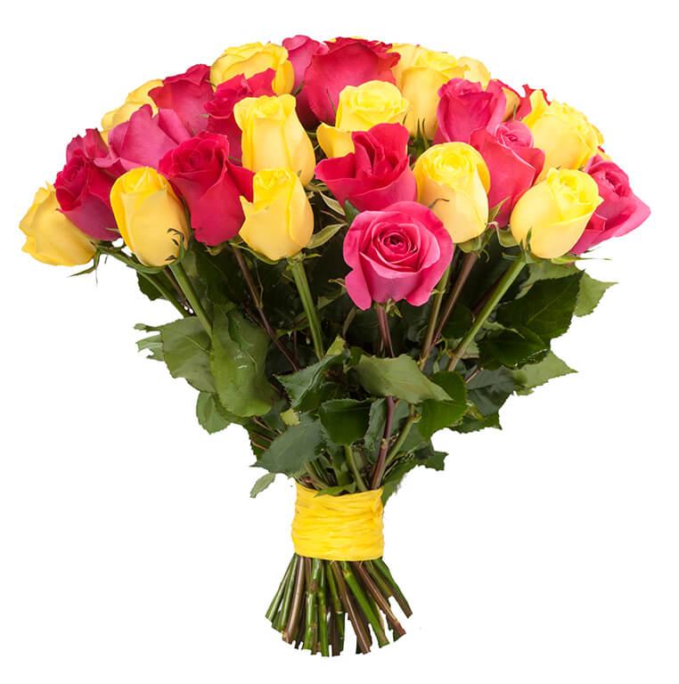 эквадорская роза 40 см